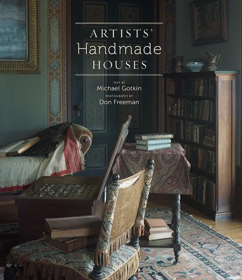 Artists Handmade Houses book art home decor