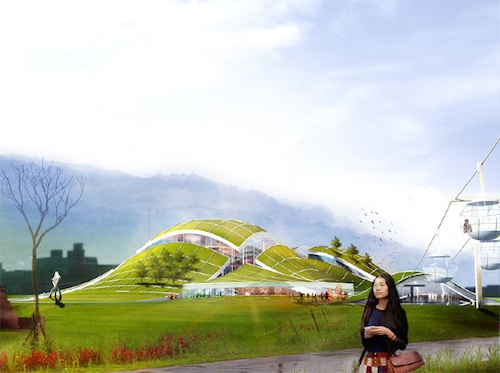 Thumbnail image of Exploded Hill to House Taipei Art Museum