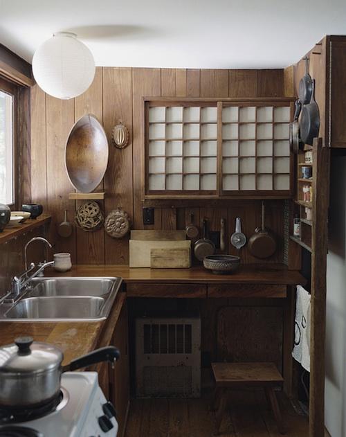 George Nakashima kitchen art home decor