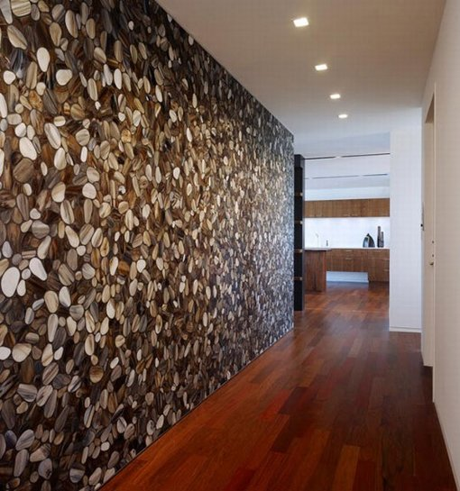 Mosaic Tile Walls Corridor Perfect Penthouse Interior Design how to tips advice