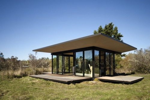 Olson Kundig Architects cabin 3 green