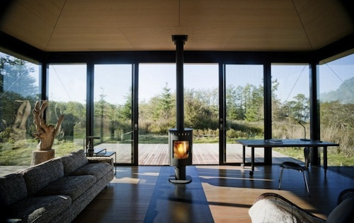 Olson Kundig Architects cabin 8 green