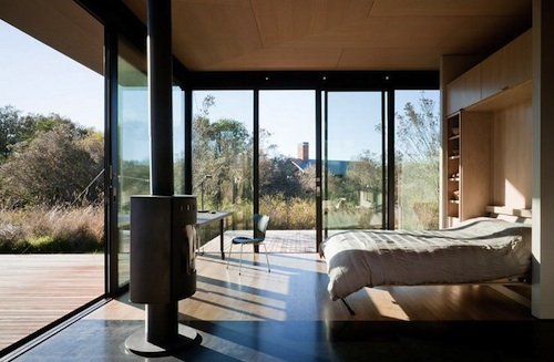 Olson Kundig Architects cabin 9 green
