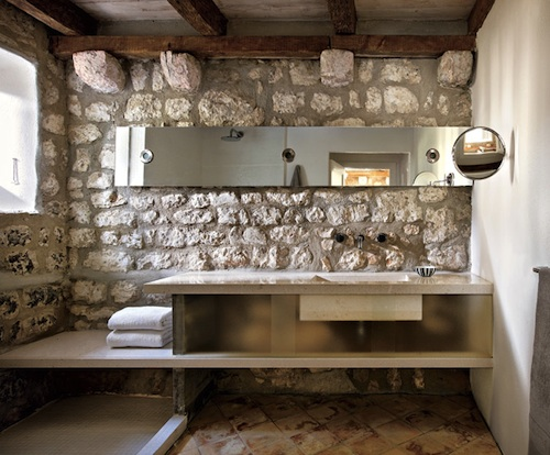 stone house in croatia 4 green