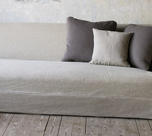 Sarahs Linen Couch Erin Martin how to tips advice