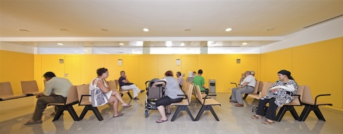 centro de salud 9 architecture