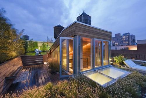 penthouse rooftop garden 1 green
