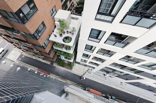 vertical garden 2 green
