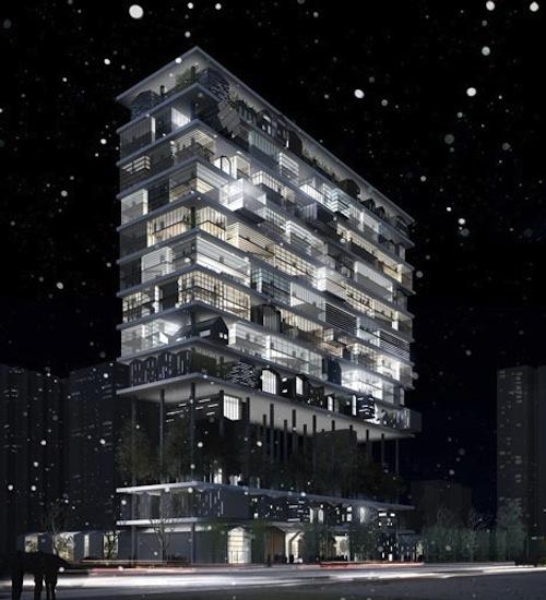 Shelf Hotel4 architecture