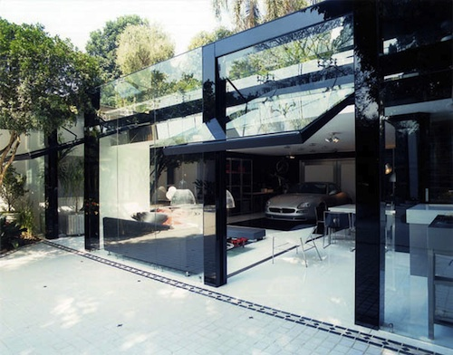glass garage9 architecture
