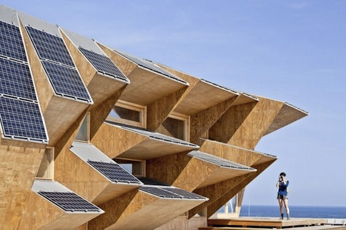 IAAC solar1 architecture