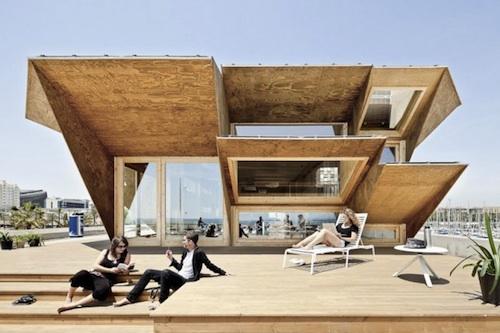 IAAC solar2 architecture