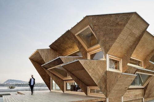 IAAC solar4 architecture