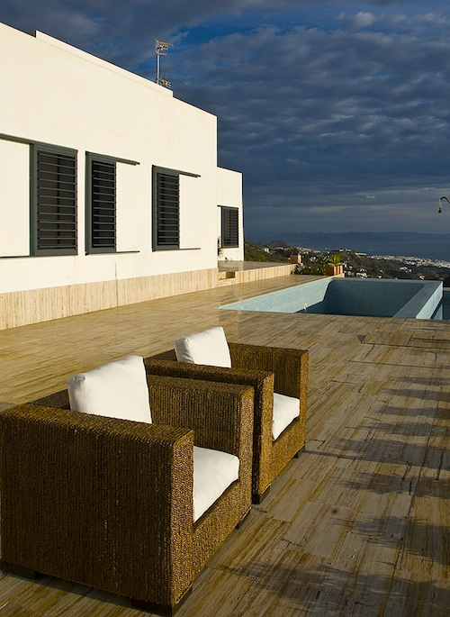 Glorious Mediterranean Vista from Spain's Intriguing AA House