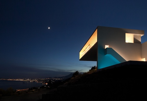 house on the cliff3 architecture
