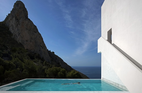 house on the cliff8 architecture