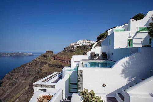 Imerovigli Santorini6 architecture