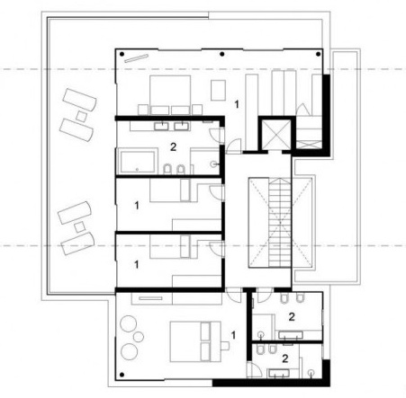 house m6 architecture
