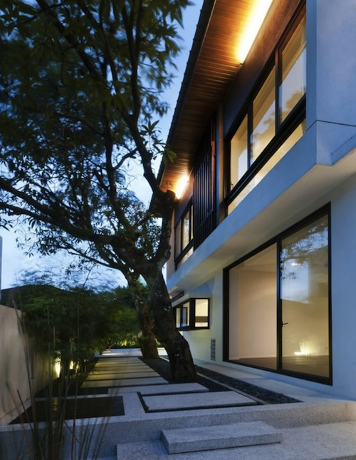 hijauan house8 architecture