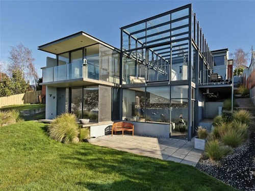 Kay House1 Glass House Features Dream Lap Pool