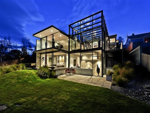 Kay House2 Glass House Features Dream Lap Pool