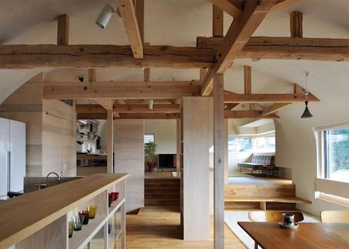 house in kitashirakawa2 architecture