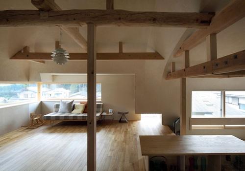 house in kitashirakawa3 architecture
