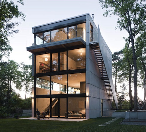 An Office Tops House O By Peter Ruge Architekten Home Design Find. Four  Story ...