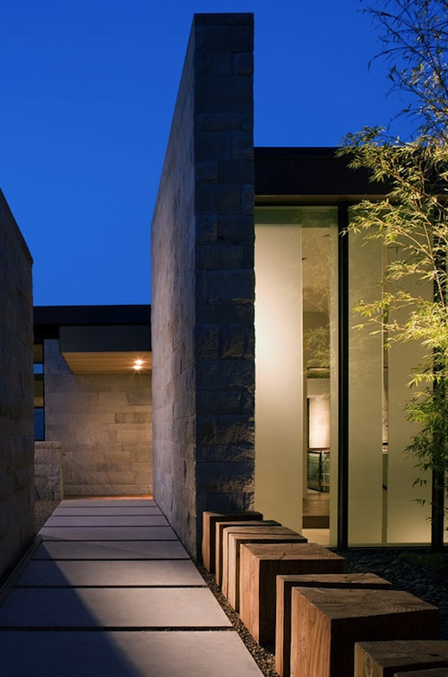 A Home of Sensual Textures in Sonoma Wins an Award