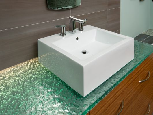 glass bathroom countertop uncategorized