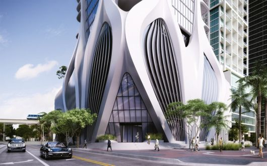 one thousand museum miami condo 1024x640 architecture