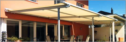 retractable awnings gardening outdoor